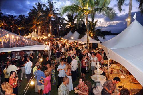 The Kapalua Food and Wine Festival circa  2012. Courtesy photo