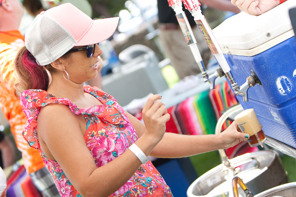 A scene from the 2012 Brewfest. Courtesy photo
