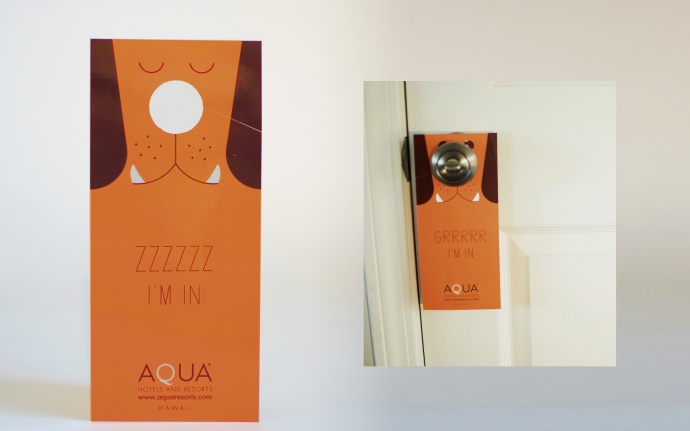 """Grrrr I'm in"" for Aqua Hotels & Resorts by SAE Design wont he Gold Pele Award. Courtesy photo."
