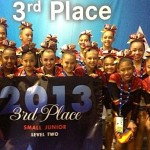 Hawaii All-Stars Small Junior Level 2 finished third in the nation at The Summit cheer competition in Orlando, Fla. Photo by Hawaii All-Stars.