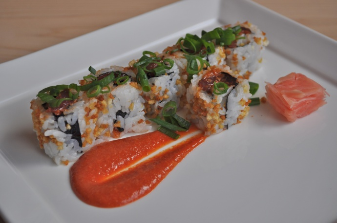 Alan Wong's Spicy Tuna Roll. Courtesy photo
