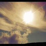 Partial Solar Eclipse Visible Over Hawai'i
