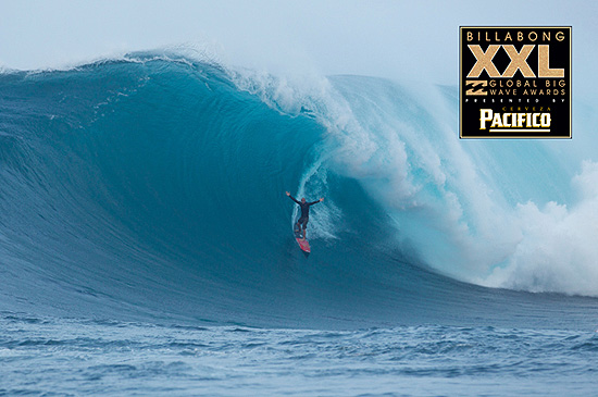 Shane Dorian surfs Jaws at Peahi on Oct. 9, 2012. Photo by surf images.com.