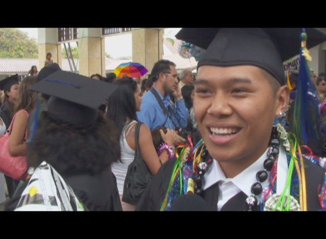Lorenzo Valdez, UH Maui College graduate.  Courtesy image.