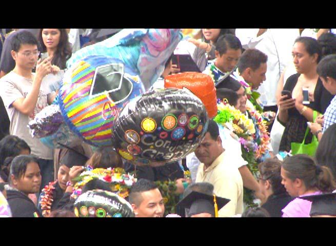 Metallic balloons. Image courtesy UH.