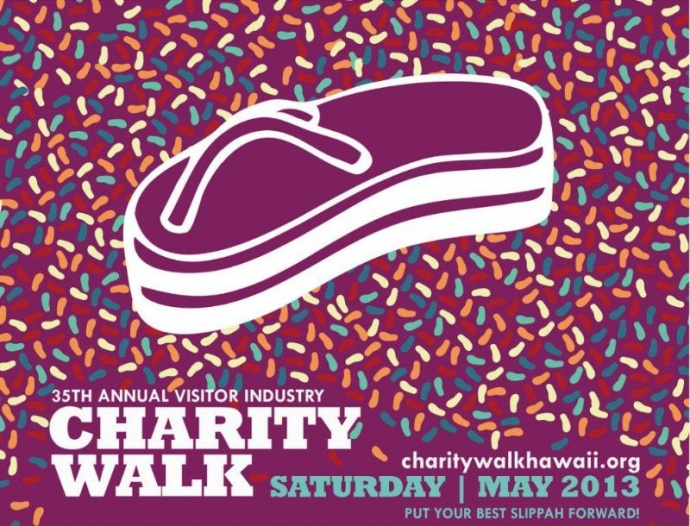 visitor industry charity walk
