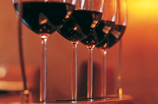 In vino veritas or a hangover or something like that. Photo courtesy Ritz Carlton