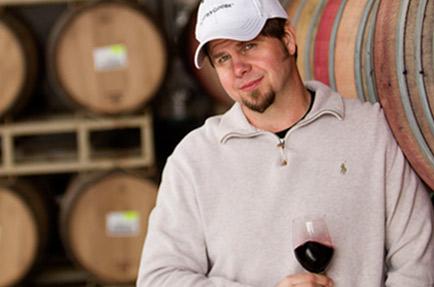 Winemaker David Ready, Jr. Photo courtesy Murphy-Goode Winery.
