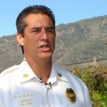 Maui Fire Chief Jeffery Murray.  Photo by Wendy Osher.