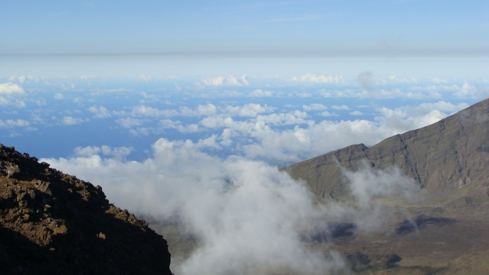 55 mph Wind Gusts Forecast for Haleakalā Summit