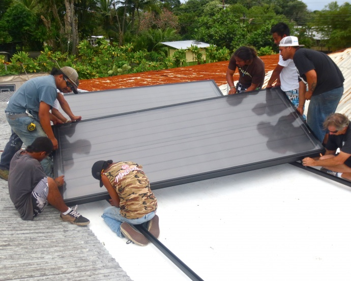 Photo courtesy Hawaiʻi Energy and Ma Ka Hana Ka 'Ike.