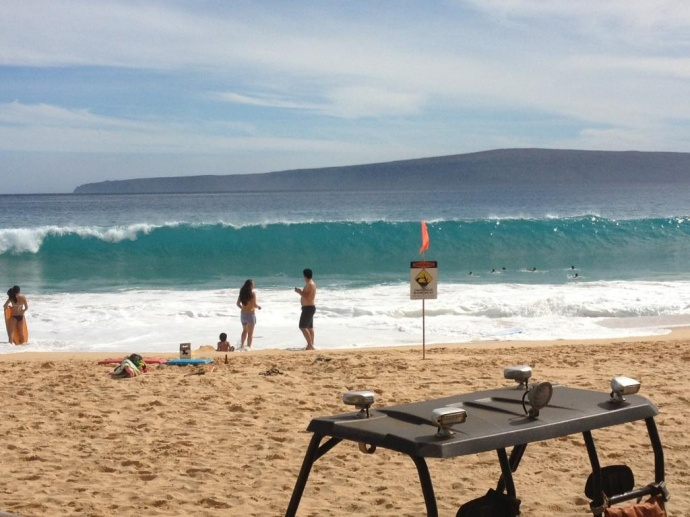South Shore Surf Forecast is 5-9 Feet in Maui County