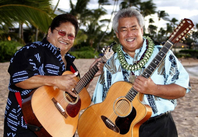 Masters of Hawaiian Slack Key - Ledward Kaapana and George Kahumoku Jr. Courtesy photo