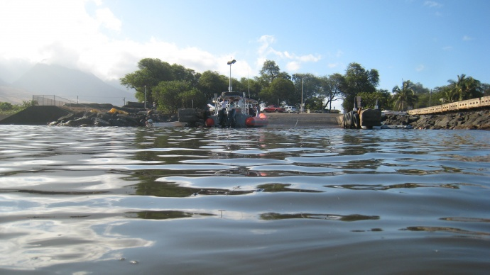 Māla Boat Ramp, photo courtesy State of Hawaiʻi, Office of the Governor.