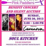 Concert to Benefit Mana'olana Pink Paddlers