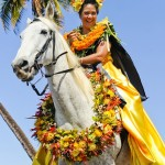 Photo credit: Jackie Jean Photography. Courtesy photo from Nā Kamehameha Paʻu Parade.