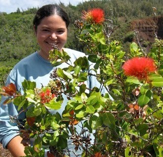 Rhiannon Chandler, executive director of the newly christened Malama Maui Nui (formerly Community Work Day). Courtesy photo.