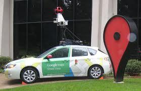 A Google Maps Street View vehicle. Google.com photo.