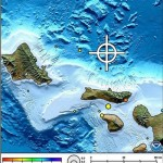 June 21, 2013 Maui County earthquake map posted by Pacific Tsunami Warning Center.