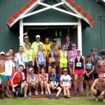 Winners and top finishers from Saturday's Kahakuloa Run pose for a picture following the race. Photo by Rudy Huber.