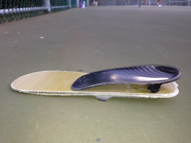 King's spring-action sole. Courtesy photo.
