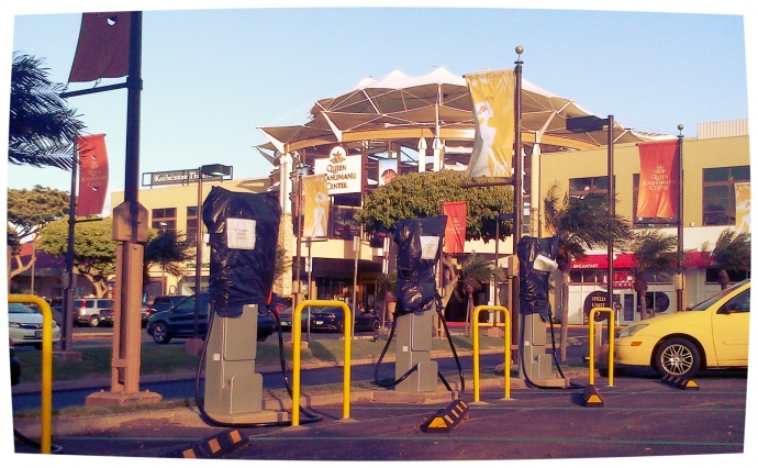 QKC Fast Charge Station. Photo by Wendy Osher.