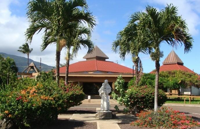St. Anthony Jr. and Sr. High School, Wailuku, Maui. File photo by Wendy Osher.