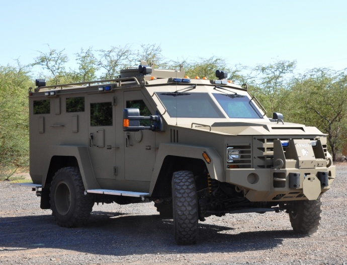MPD Bearcat vehicle. Photo courtesy, County of Maui / Lois Whitney.