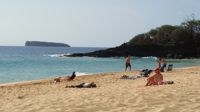Oneloa or Big Beach in Mākena, file photo by Wendy Osher.