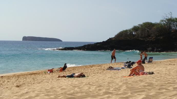 Oneloa or Big Beach in Mākena, file photo by Wendy Osher.