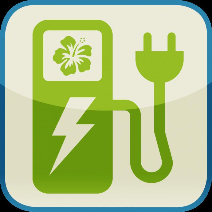 EV Stations Hawaii app icon.  Courtesy photo.