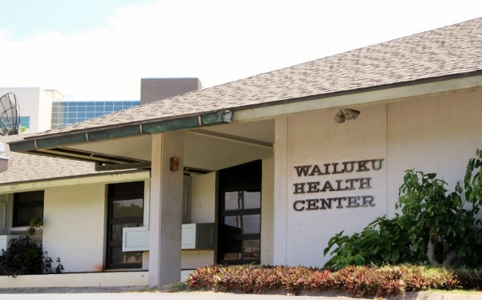 Wailuku Health Center photo by Wendy Osher.