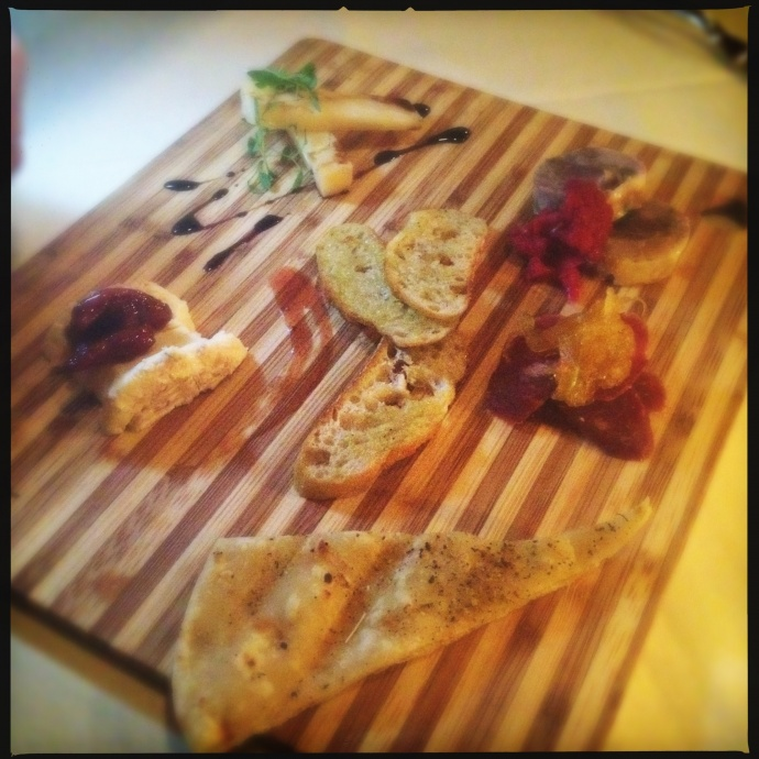 The Salumi and Cheese plate. Photo by Vanessa Wolf.