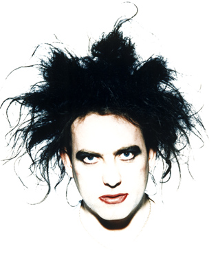 Robert Smith of The Cure. Those were the days, Party People. Those were the days. Courtesy photo