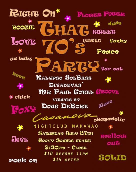 That 70s Party Casanovas