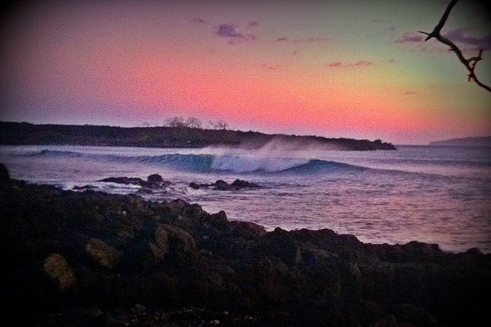 Dumps at sunset. Photo: Carlos Rock.