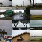 Flossie impacts on Maui. To view photos in greater detail, click the thumbnail images below.