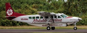 Mokulele Airlines will begin service between Kona and Kapalua, Maui later this month. Courtesy photo.