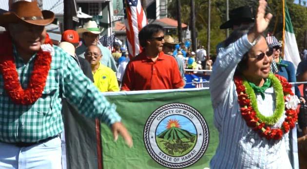 Paniolo Parade 2013, image courtesy County of Maui.