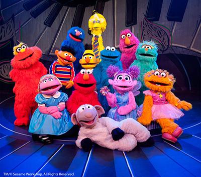 Sesame Street Live. Courtesy image.