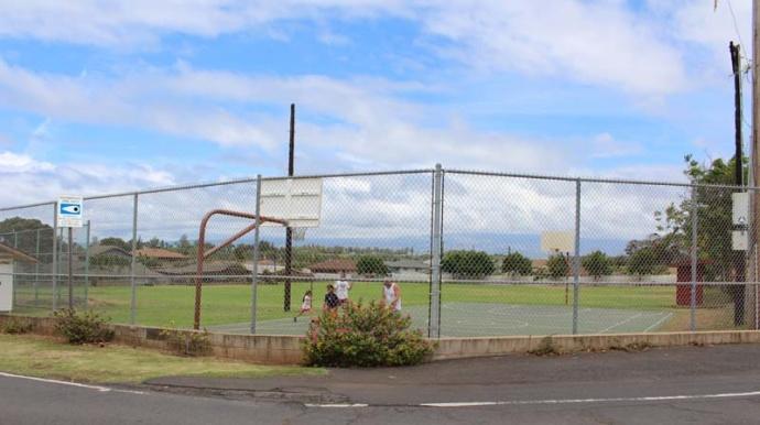Waiheʻe Ball Park. Photo by Wendy Osher.