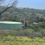 The Wailuku well is located down hill from South Alu Road and the Wailuku water tank in the Kehalani Mauka development. Photo by Wendy Osher.