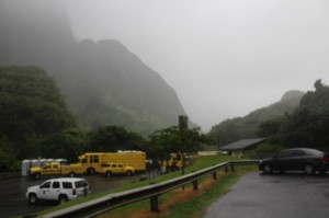 ʻĪao Valley Rescue, 8/10/13. Photo by Wendy Osher.