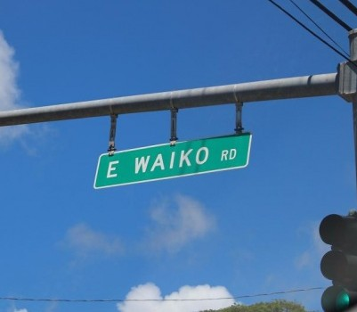 East Waiko Road. Photo by Wendy Osher.