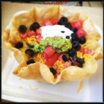 The taco salad. Our dining companion was pleased. Photo by Vanessa Wolf