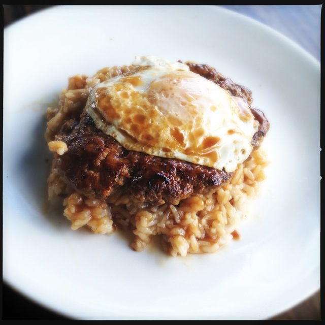 The Breakfast Loco Moco. Photo by Vanessa Wolf