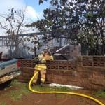 Lānaʻi fire 8/3/13. Photo courtesy MFD.