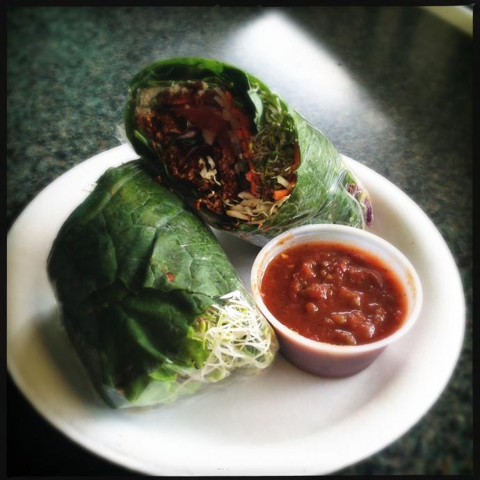 The Live Burrito Supreme. Photo by Vanessa Wolf