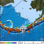Image courtesy Pacific Tsunami Warning Center. Alaska/Aleutian Islands Quake 8/30/13.