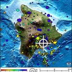 Hawaiʻi Island earthquake, 8/11/13. Image courtesy Pacific Tsunami Warning Center.